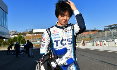 Toshiki Oyu podczas kwalifikacji do wyścigu serii Super Formula
