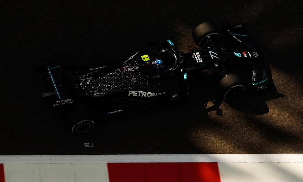 Valtteri Bottas Mercedes GP Abu Zabi 2020 F1 treningi