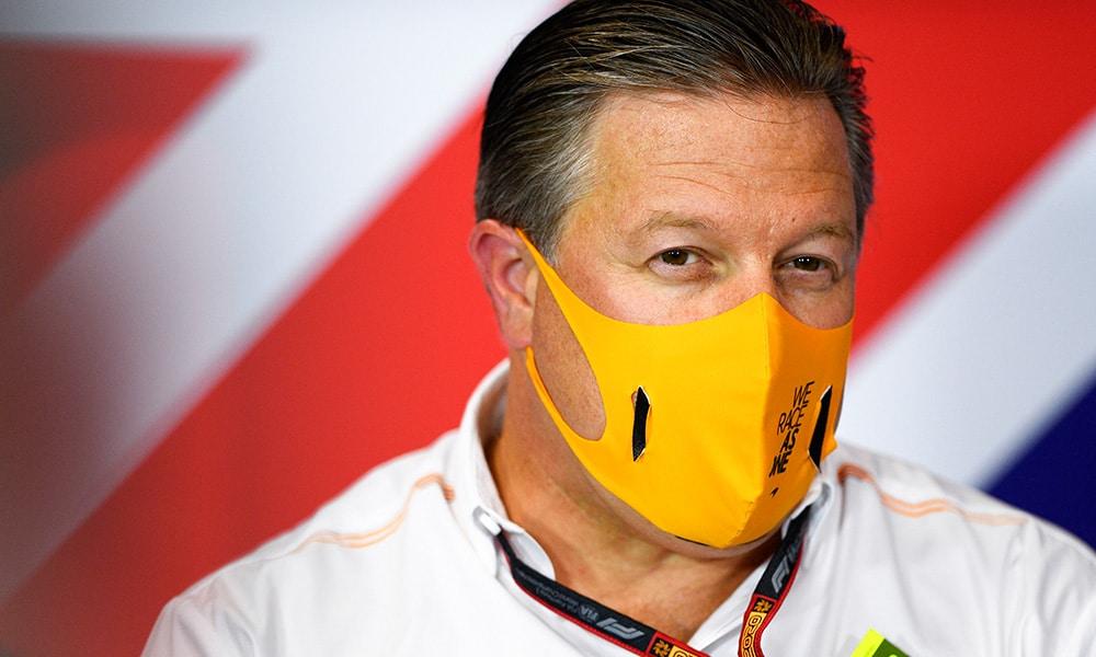 Zak Brown McLaren dyrektor generalny