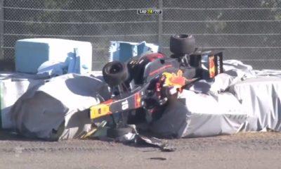 Wypadek na torze Suzuka