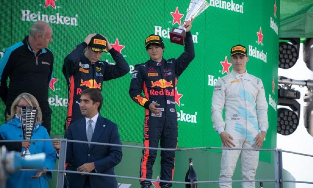 Formuła 3, podium Monza 2019