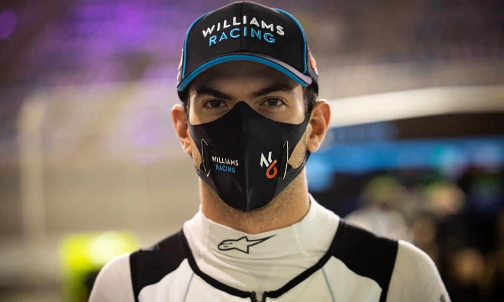 nicholas latifi williams racing