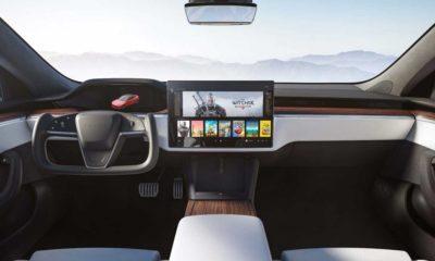 Tesla Model S po liftingu (pełna digitalizacja)