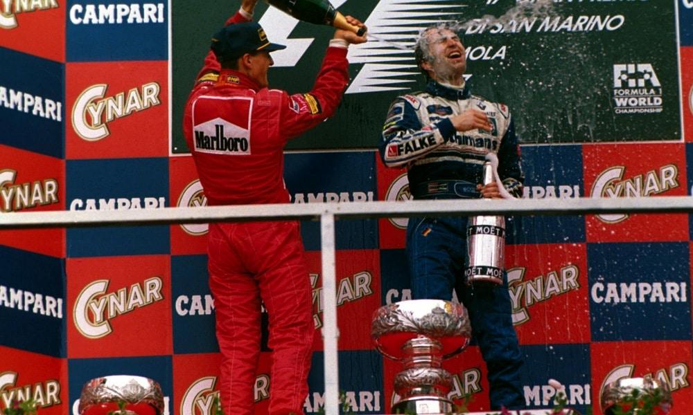 Heinz-Harald w Williamsie 1997