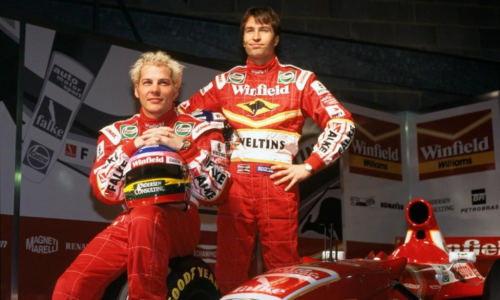 Villeneuve i Frentzen , Williams