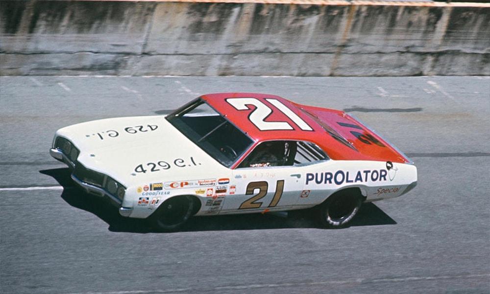 A.J. Foyt podczas Daytona 500