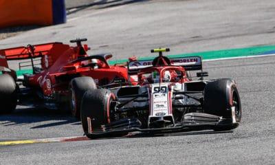 Alfa Romeo F1 Sauber z Ferrari