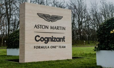 Aston Martin F1 Team logo 2021