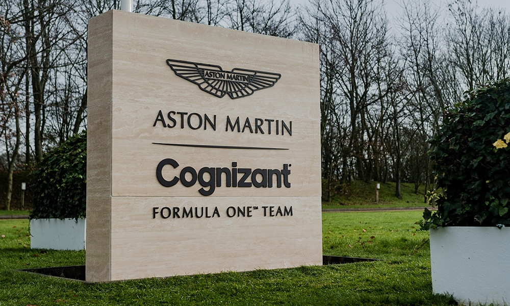 Aston Martin F1 Team logo 2021
