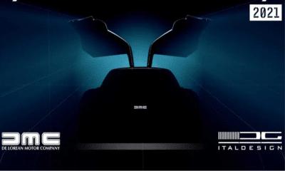Nowy DeLorean - teaser