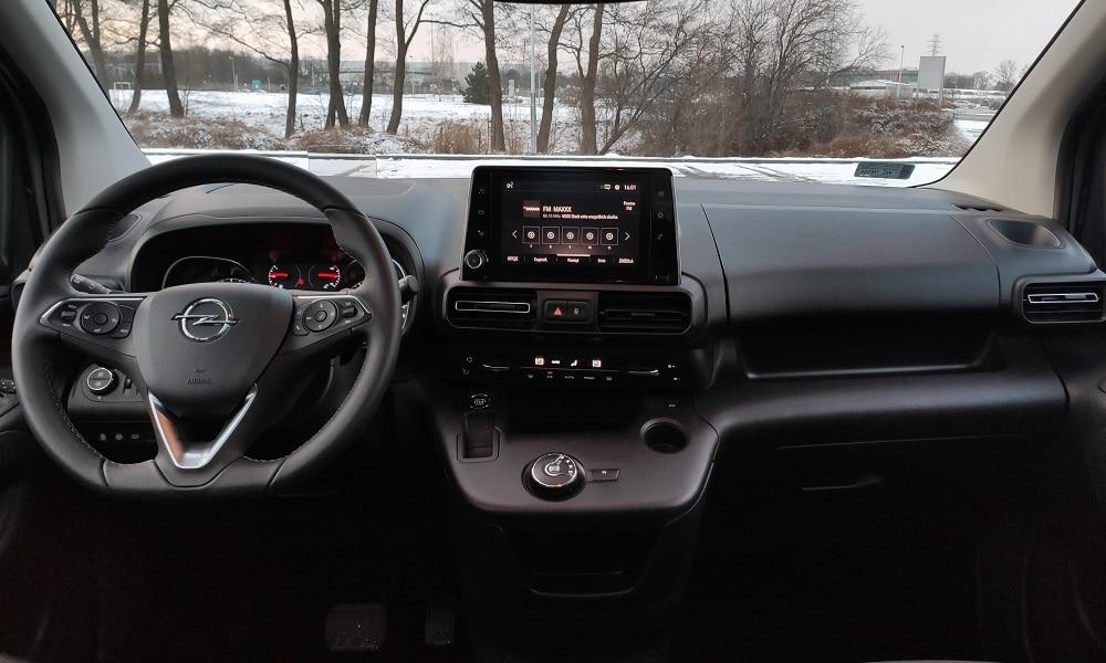 Opel Combo Life - wnętrz
