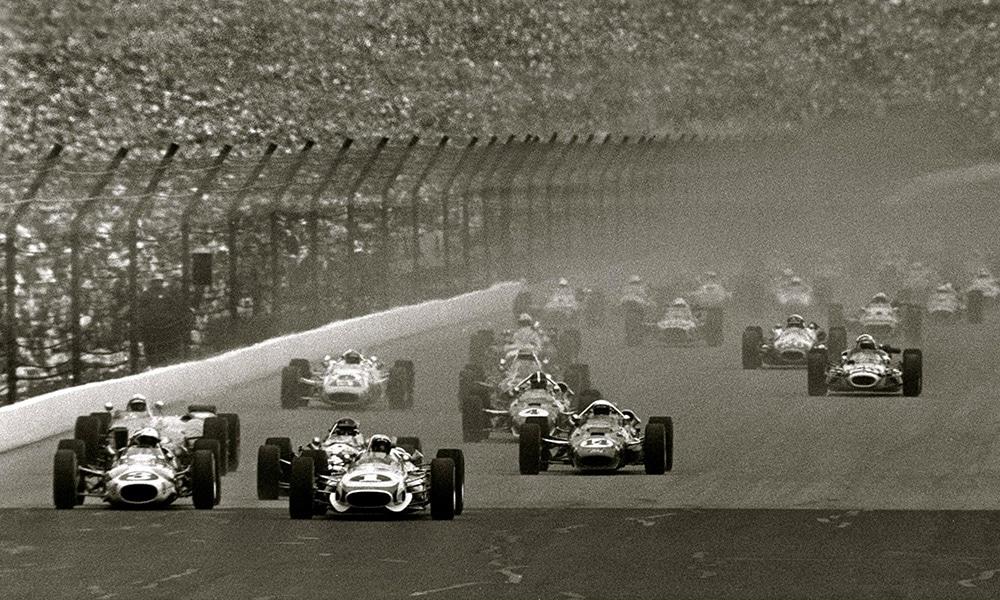 Indy 500 1967 start