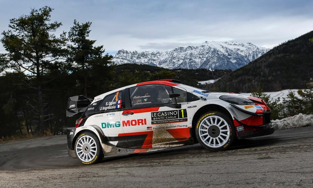 Ogier 8 triumf Monte Carlo 2021 WRC