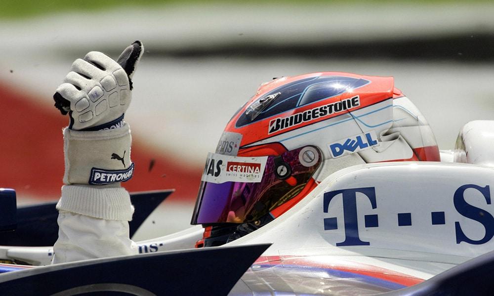 Robert Kubica Twitter 2008 sezon f1