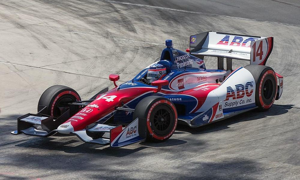 Takuma Sato Long Beach IndyCar 2013