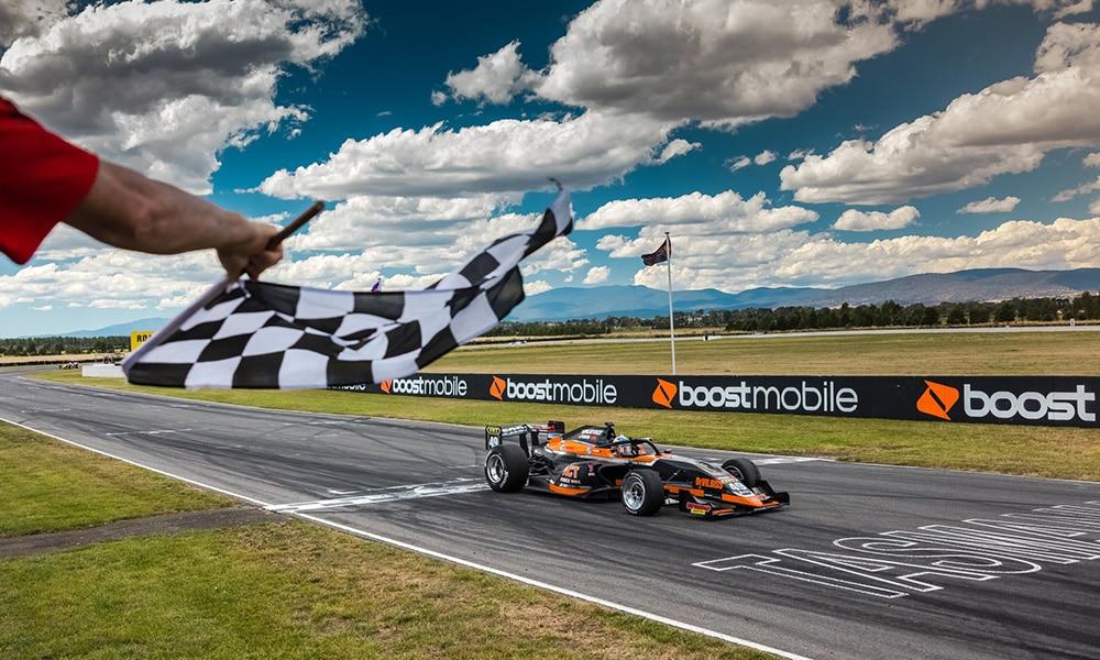 Thomas Randle S5000 Symmons Pains Raceway 2021