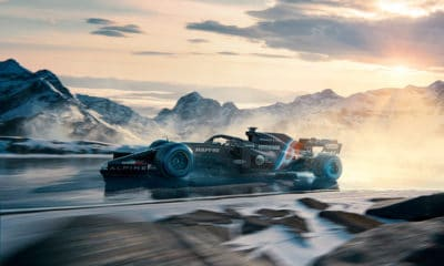 prezentacja alpine f1 2021 render malowanie bolidu