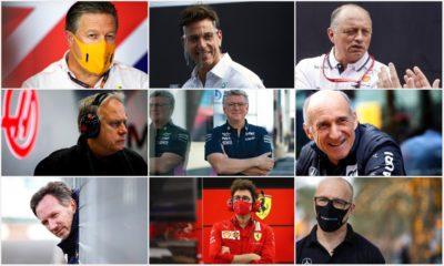 szefowie zespołów f1 2021