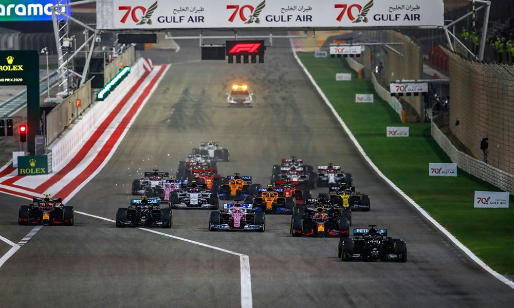zmiany w kalendarzu f1 2021 gp bahrajnu