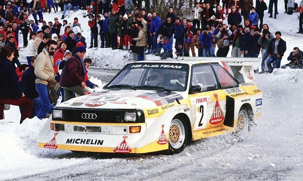 Audi Quattro B grupa wrc