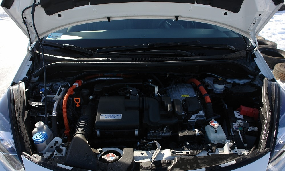 Honda Jazz - układ napędowy