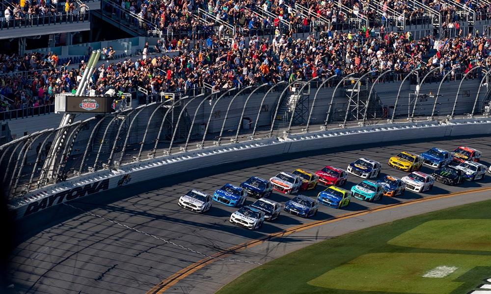 Daytona 500 NASCAR przewodnik Twitter