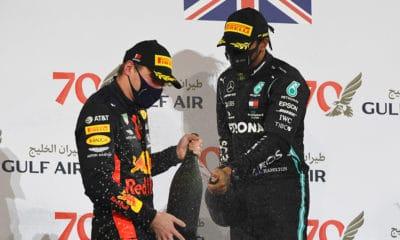 ostatni sezon Verstappena w Red Bullu? Hamilton i Verstappen GP Bahrajnu 2020