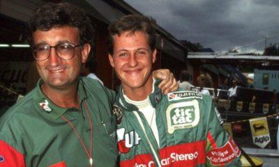 Eddie Jordan Michael Schumacher