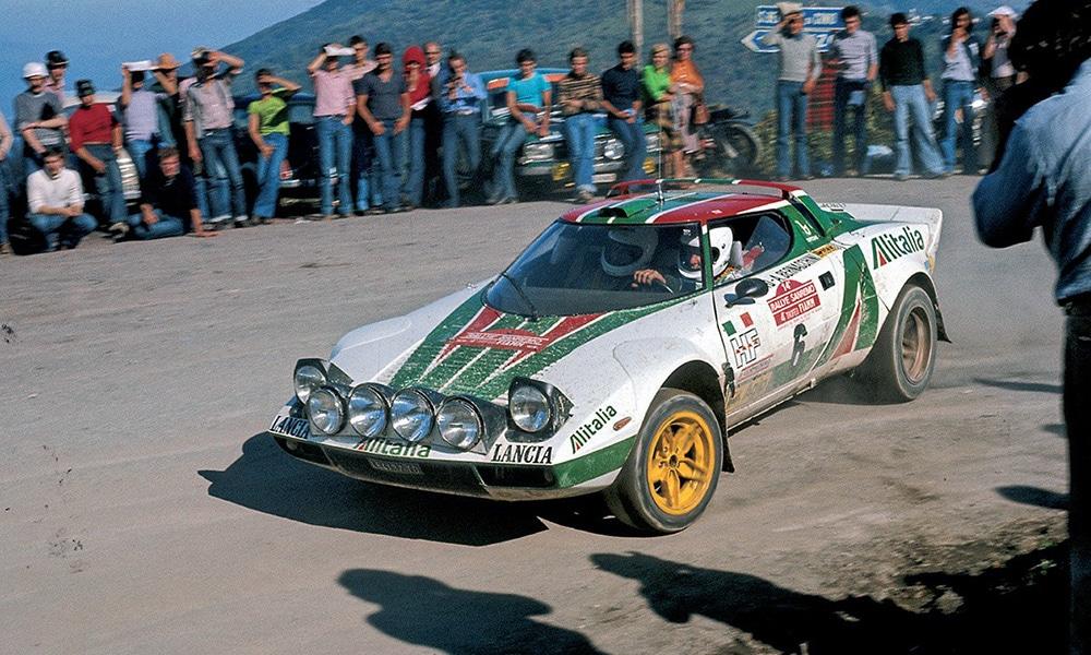 Lancia Stratos wrc