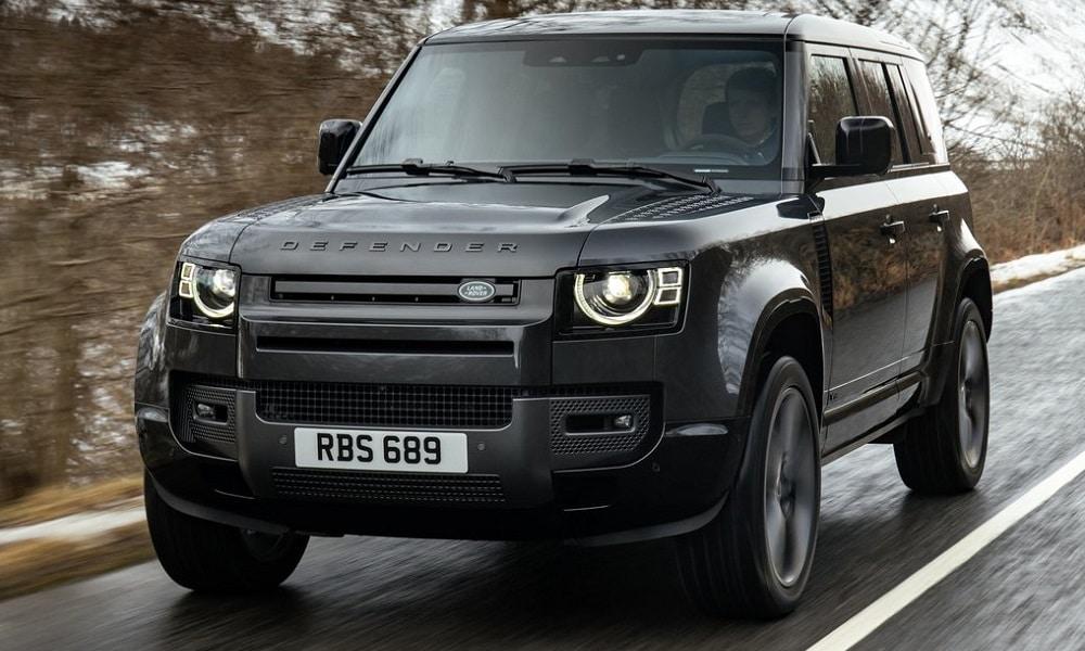 Nowy Land Rover Defender V8