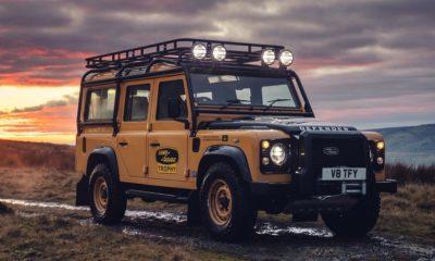 Land Rover Classic Defender Works V8 Trophy