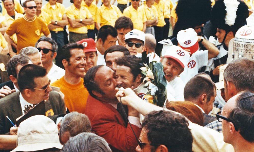 Mario Andretti i Andy Granatelli Indy 500 1969 IMS Museum