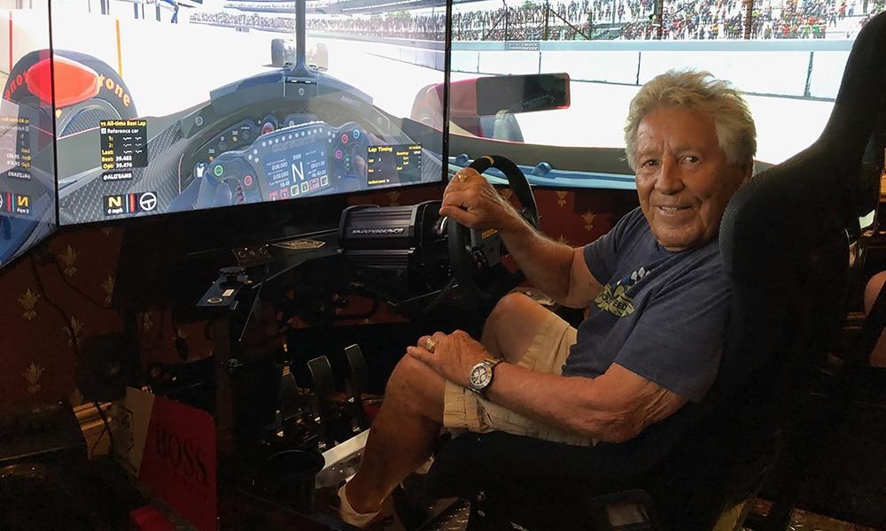 Mario Andretti symulator