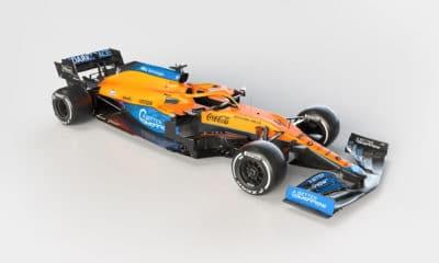 McLaren MCL35M f1 2021 bolid przód