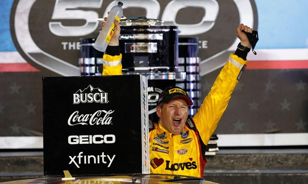 Michael McDowell Daytona 500 2021 NASCAR