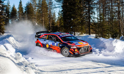 Ott Tanak Hyundai Arctic Rally Finland 2021