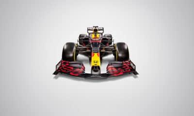 Red Bull RB16 przód