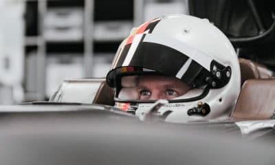 Vettel w aston martin przymiarka fotela 2021