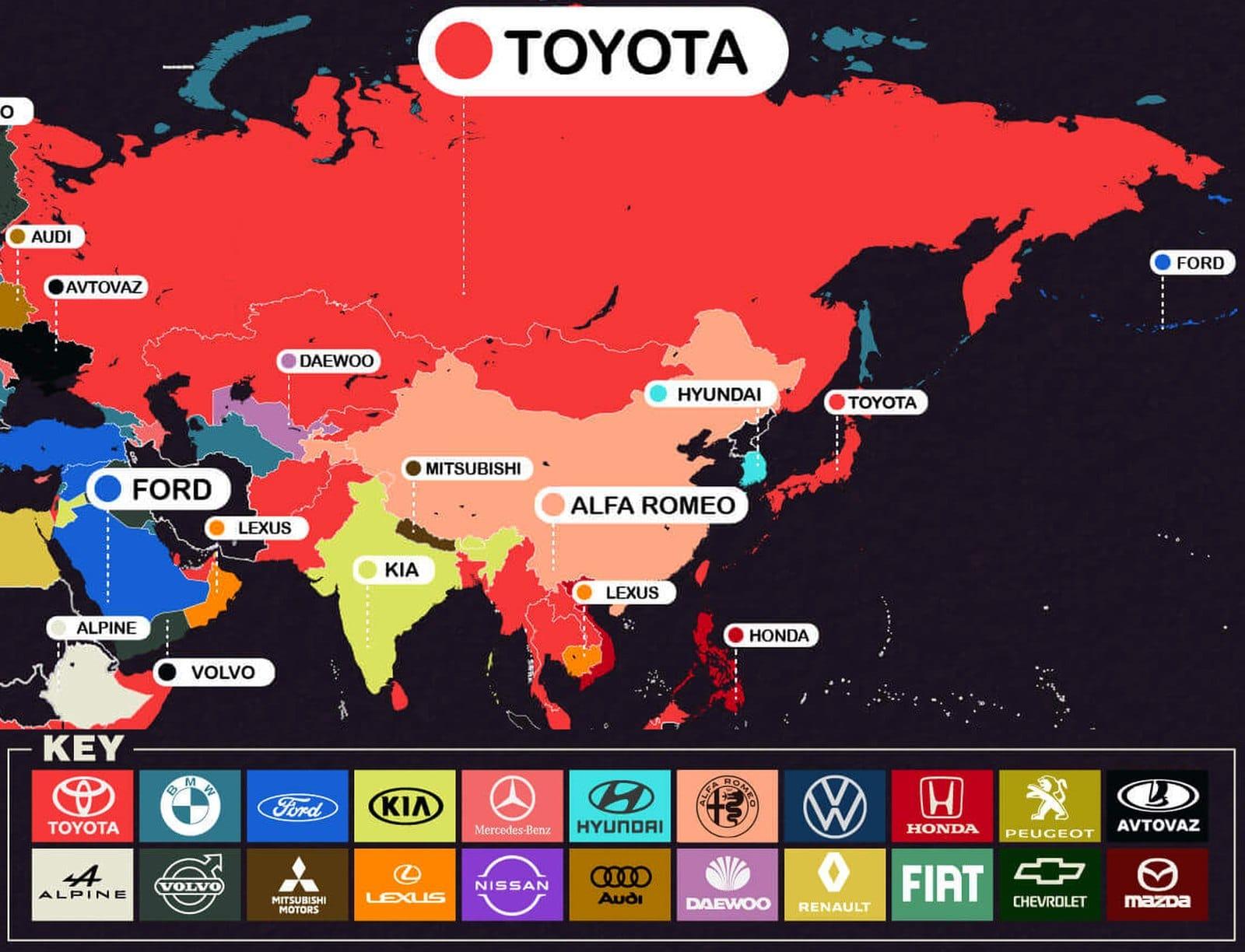 najczęściej poszukiwane samochody europa