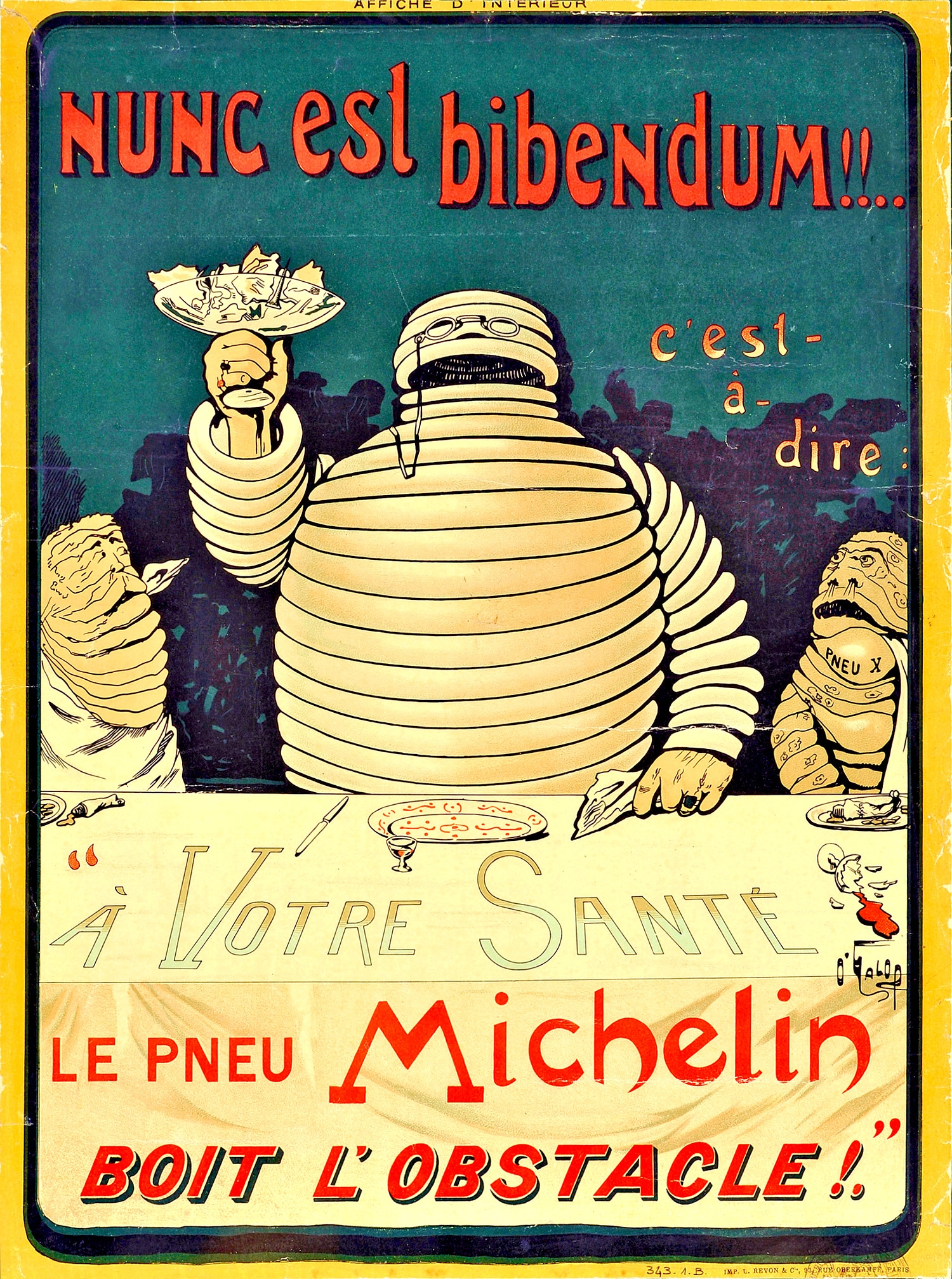 reklama ludzik michelin 1898