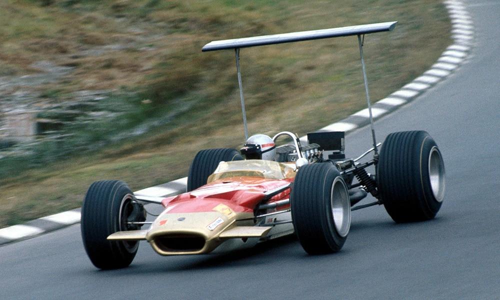 zdravko 1968 USA GP F1 Lotus 49B