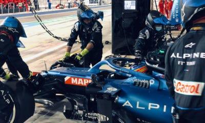 Alonso awaria GP Bahrajnu 2021 F1