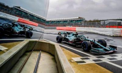 Szafnauer opinia Aston Martin AMR21 silverstone shakedown Stroll pit enter