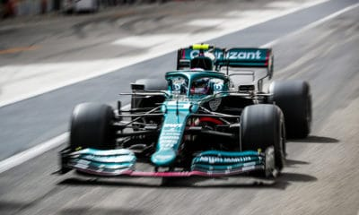 Aston Martin Vettel testy f1 2021 bahrajn