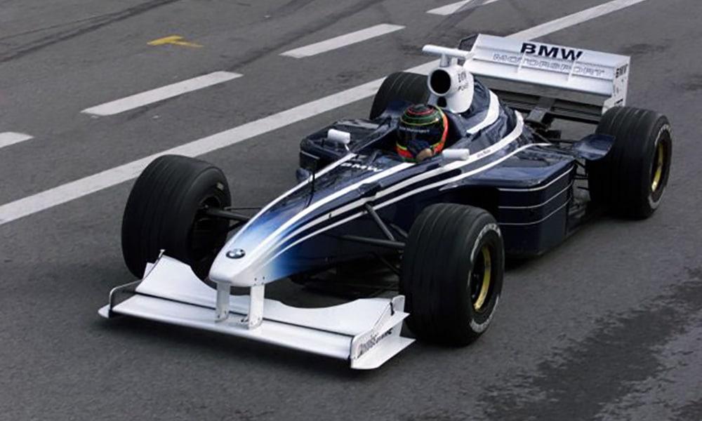 BMW Jorg Muller A1 Ring 1999 Williams test F1