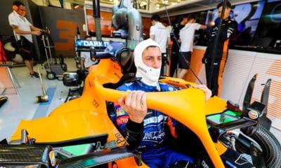 Daniel Ricciardo McLaren 2021 testy F1