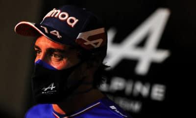 Fernando Alonso F1 2021 Alpine Bahrajn
