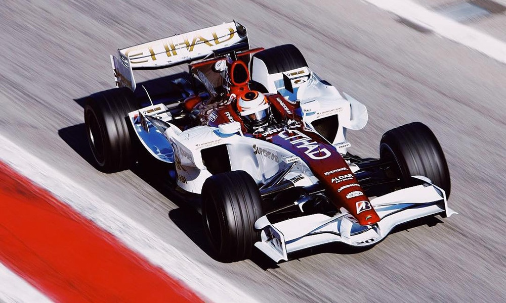 Force India 2007 test F1