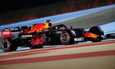 Honda Racing F1 Twitter Max Verstappen PP GP Bahrajnu 2021
