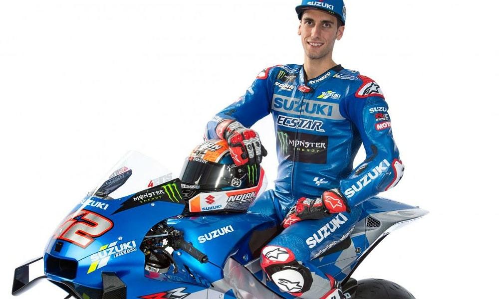 Alex Rins 2021 MotoGP Suzuki Ecstar